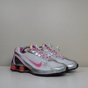 NIKE SHOX FABRIC GIRL'S RUNNING SHOES SIZE 6Y